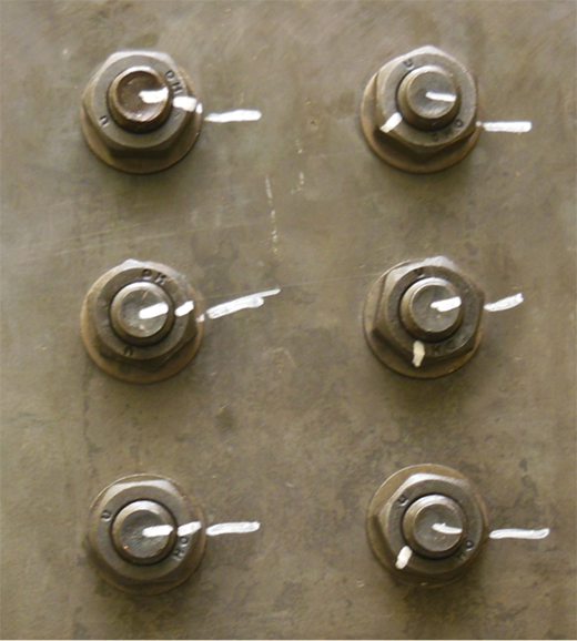 turn of nut bolting method applied bolting technology